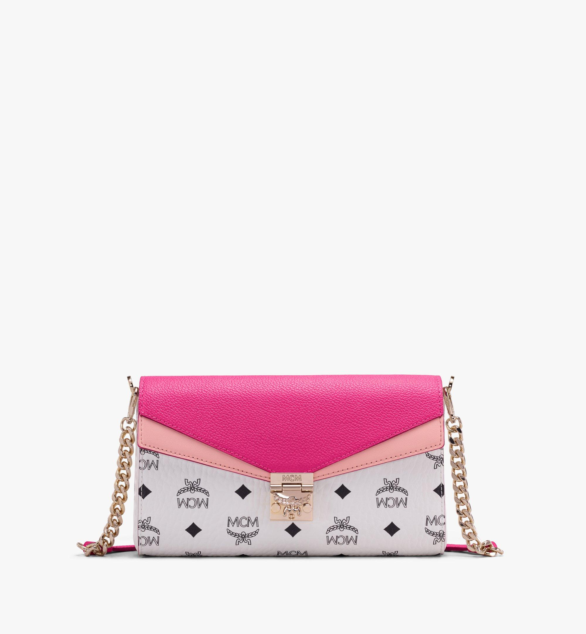 MCM Millie Crossbody in Color Block Visetos Pink MWRAAME08QJ001 Alternate View 1