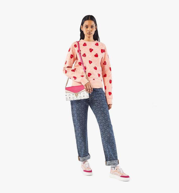 MCM Millie Crossbody in Color Block Visetos Pink MWRAAME08QJ001 Alternate View 4