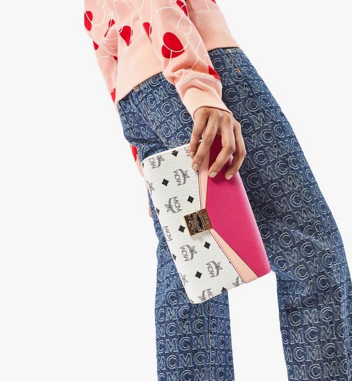 MCM Millie Crossbody in Color Block Visetos Pink MWRAAME08QJ001 Alternate View 5