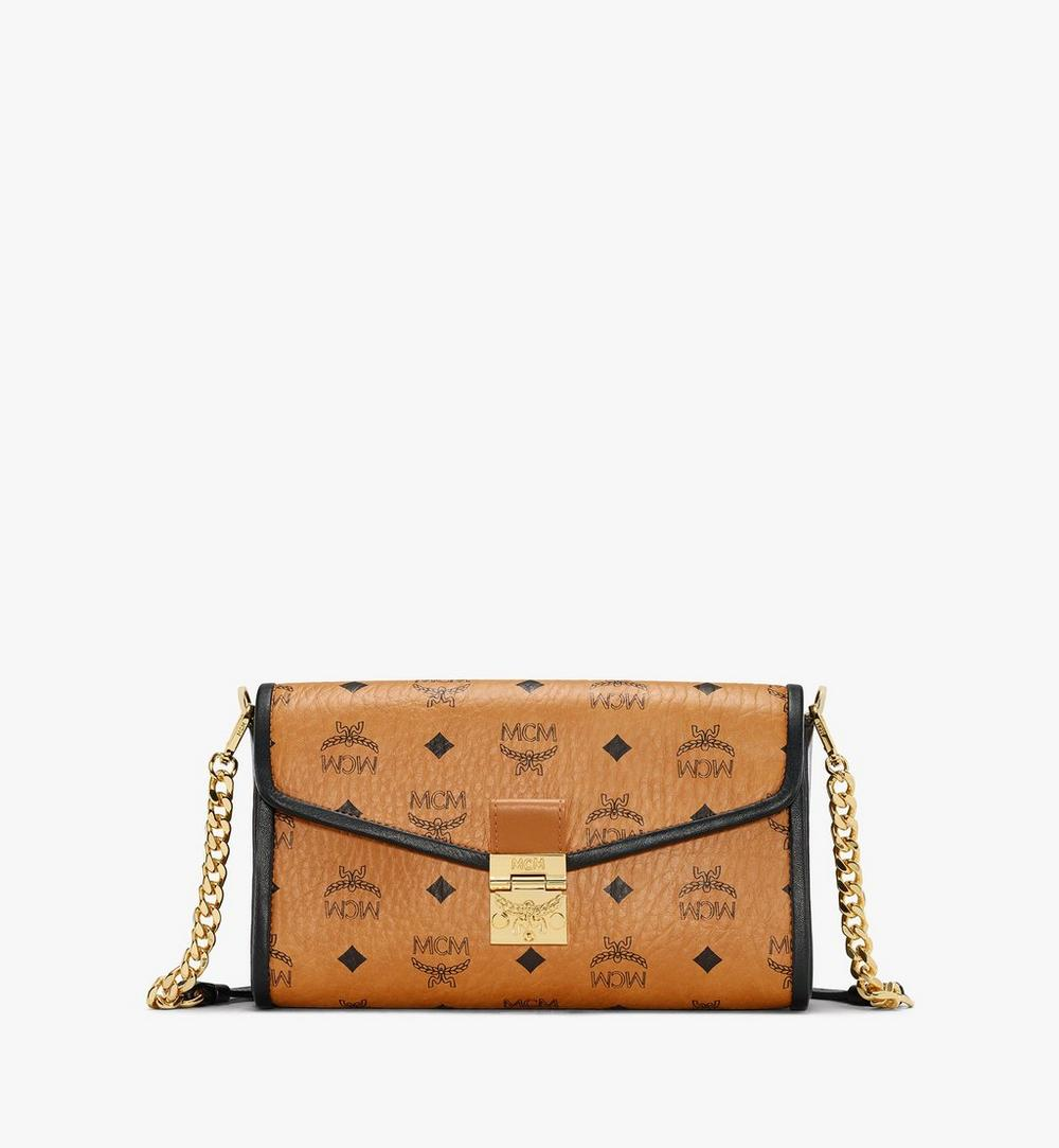 Millie Crossbody in Visetos Leather Block 1