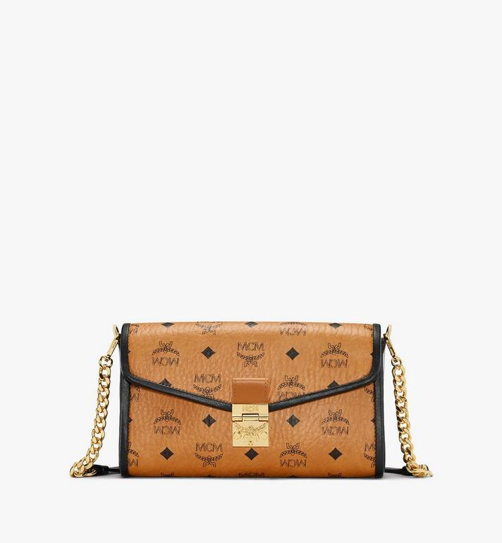 MCM Millie Crossbody in Visetos Leather Block Alternate View