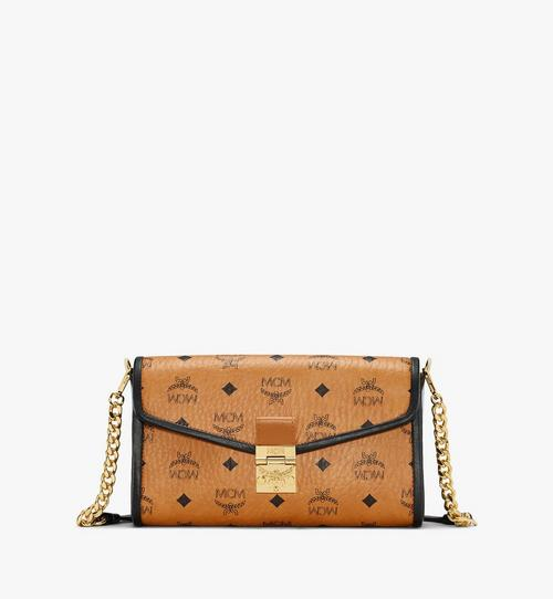 Millie Crossbody-Tasche in Visetos Leather Block