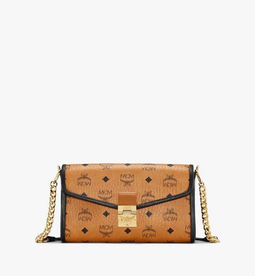 Millie Crossbody-Tasche mit Lederblock-Visetos