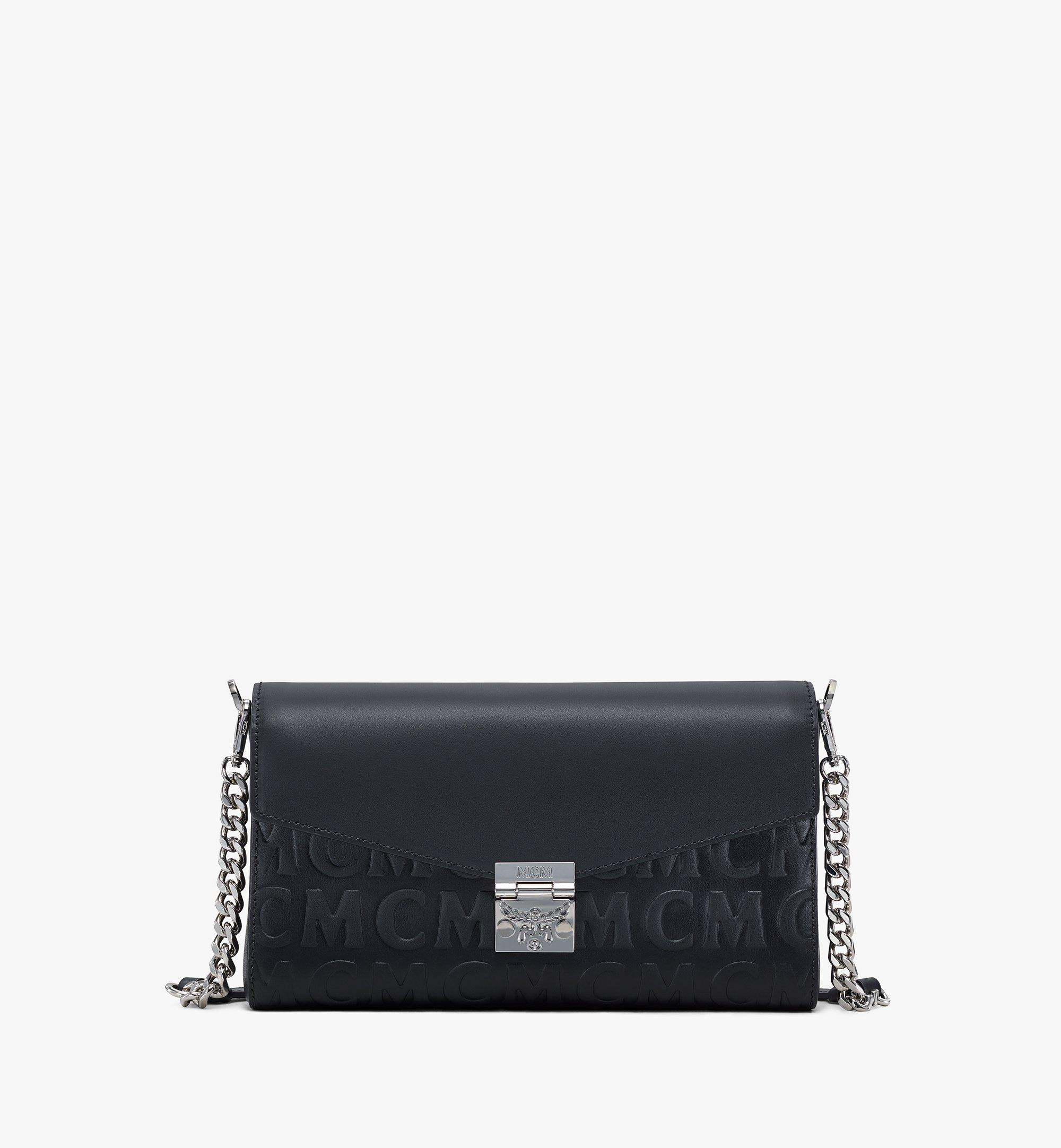 MCM Millie Crossbody in MCM Monogram Leather Black MWRAAME10BK001 Alternate View 1