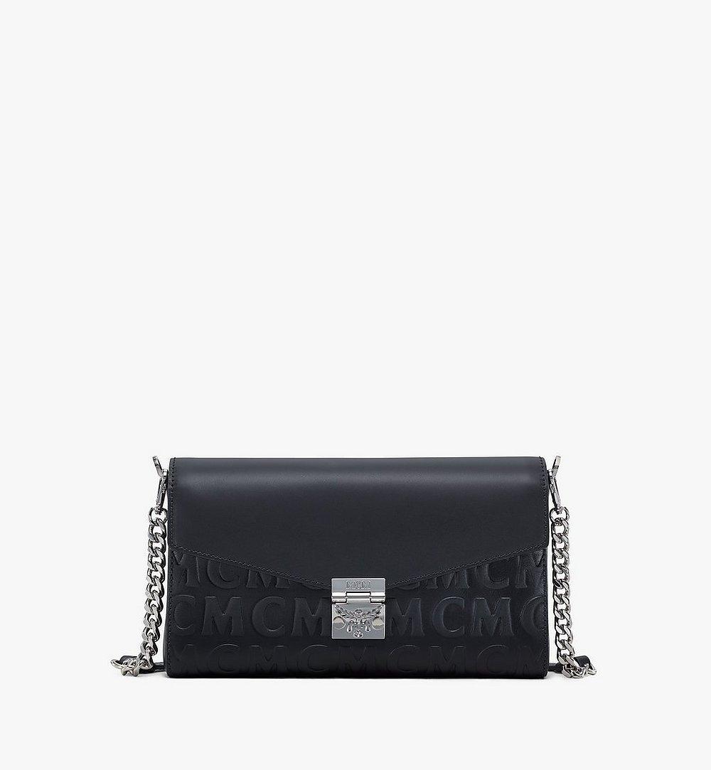 MCM Crossbody-Tasche Millie aus Leder mit MCM-Monogramm Black MWRAAME10BK001 Noch mehr sehen 1