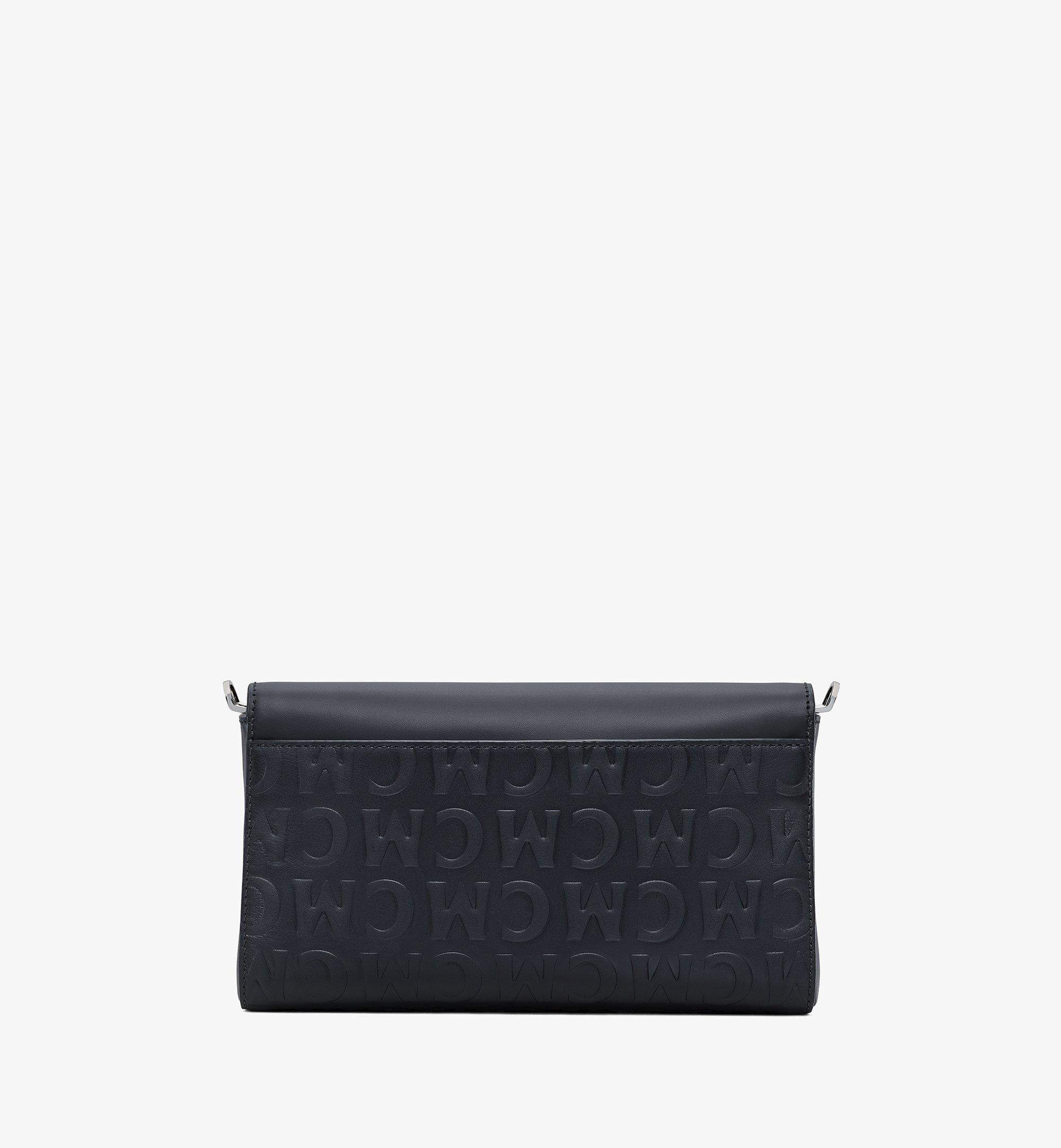 MCM Millie Crossbody in MCM Monogram Leather Black MWRAAME10BK001 Alternate View 2