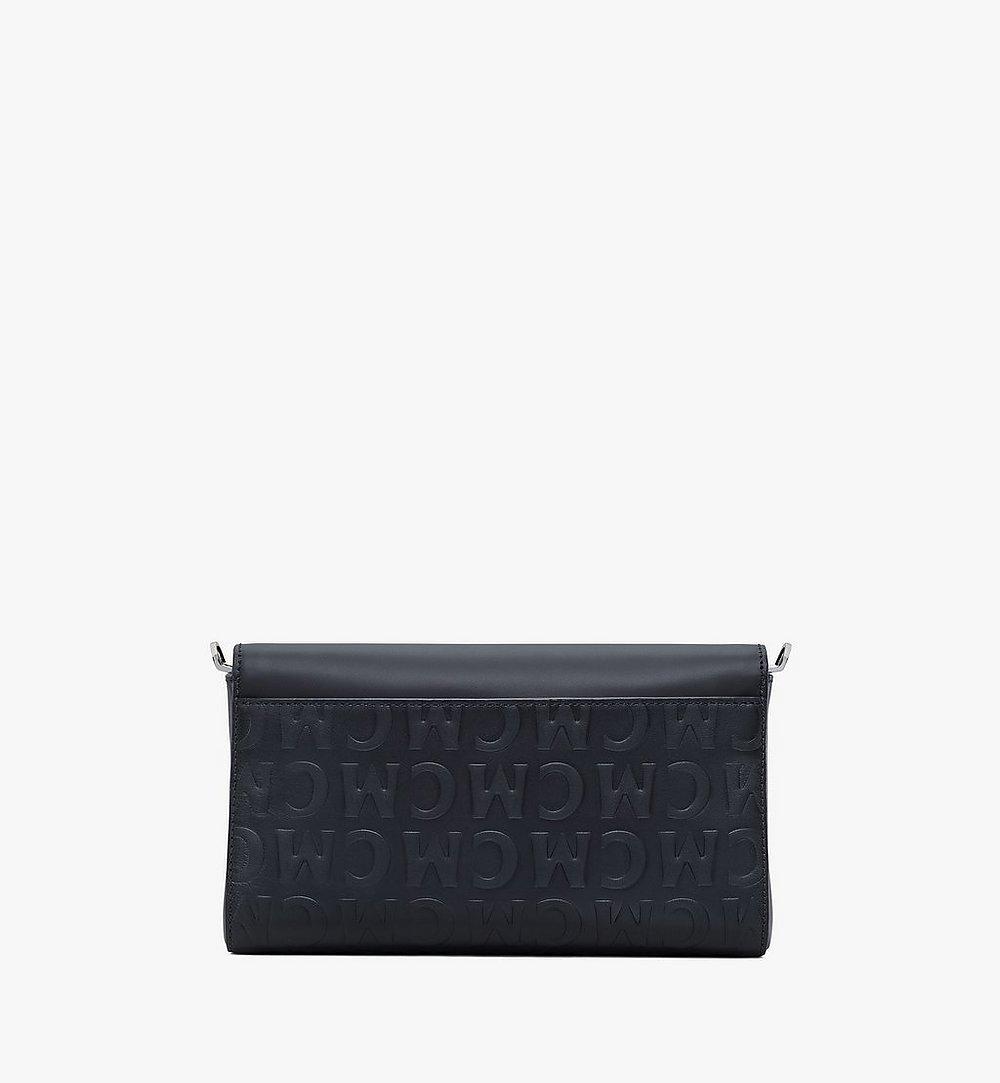 MCM Crossbody-Tasche Millie aus Leder mit MCM-Monogramm Black MWRAAME10BK001 Noch mehr sehen 2