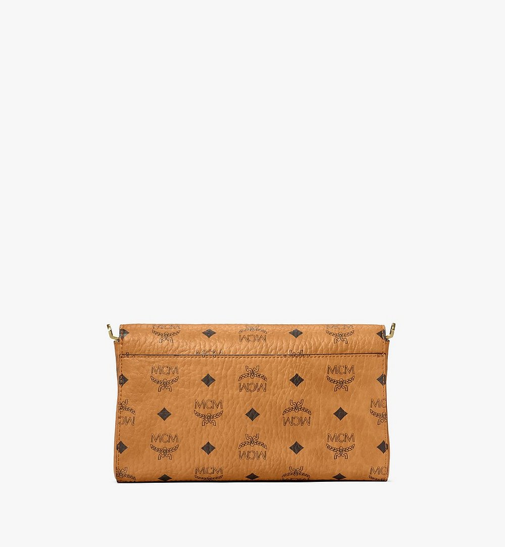 MCM Millie Crossbody in Berlin Bear Visetos Cognac MWRAAME11CO001 Alternate View 2