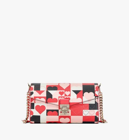 Millie Crossbody in Cubic Valentine Leather