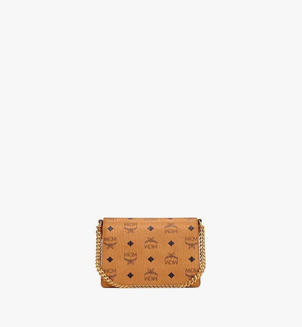 MCM Crossbody-Tasche Patricia in Visetos Cognac MWRAAPA03CO001 Noch mehr sehen 3