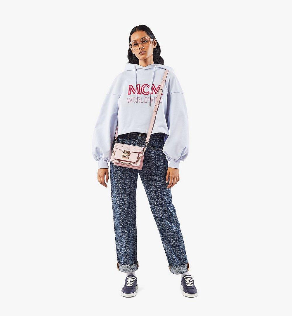 MCM Patricia Crossbody in Visetos Pink MWRAAPA03QH001 Alternate View 3