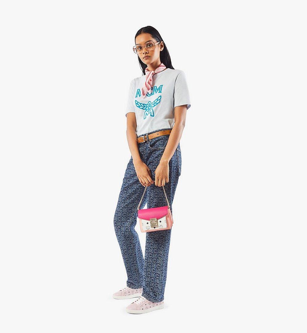 MCM Patricia Crossbody in Color Block Visetos Pink MWRAAPA06QJ001 Alternate View 4