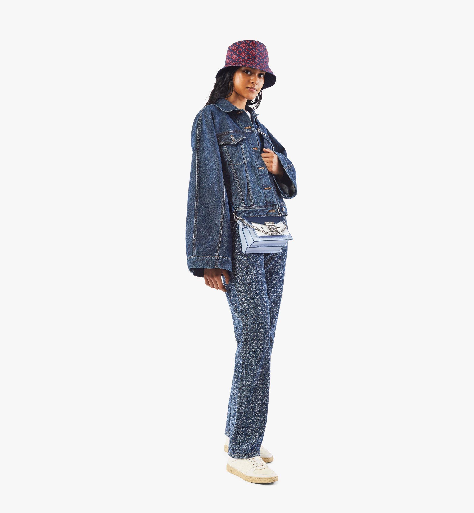MCM Patricia Crossbody in Color Block Visetos Black MWRAAPA06VW001 Alternate View 3