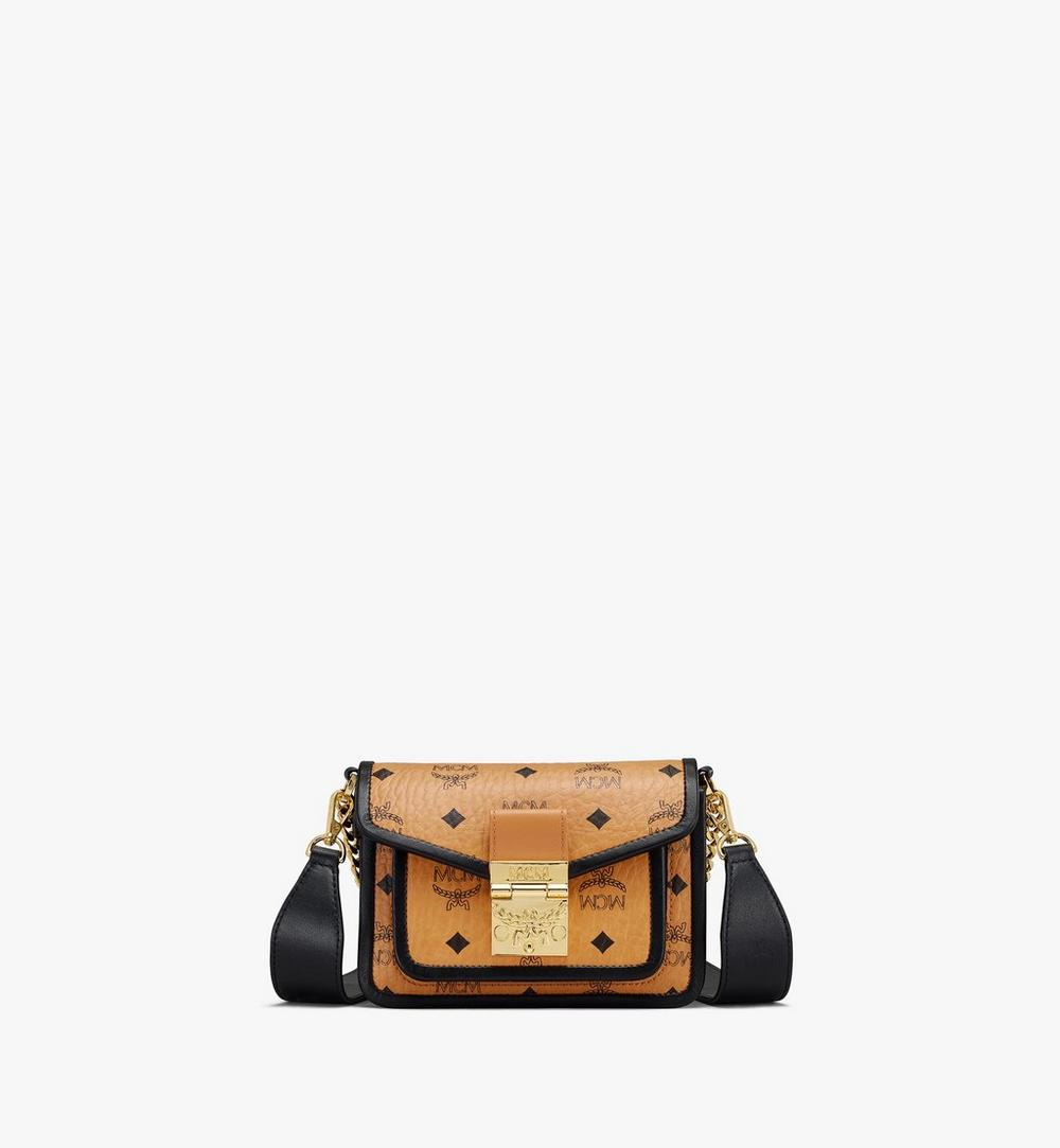 Patricia Crossbody in Visetos Leather Block 1