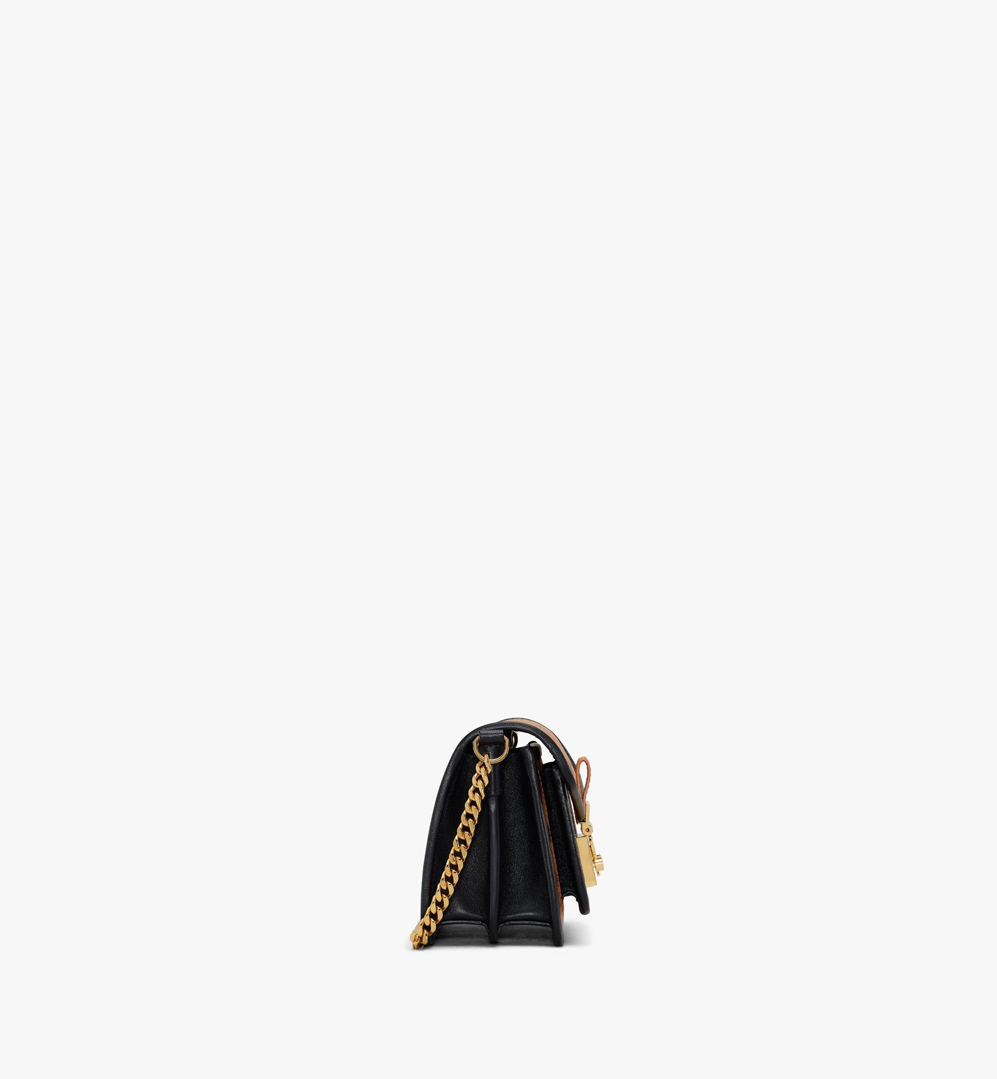 MCM Patricia Crossbody-Tasche in Visetos Leather Block Cognac MWRAAPA07CO001 Alternate View 2