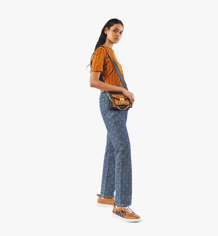 MCM Patricia Crossbody-Tasche in Visetos Leather Block Cognac MWRAAPA07CO001 Alternate View 5
