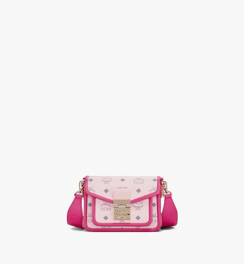 Patricia Crossbody in Visetos Leather Block