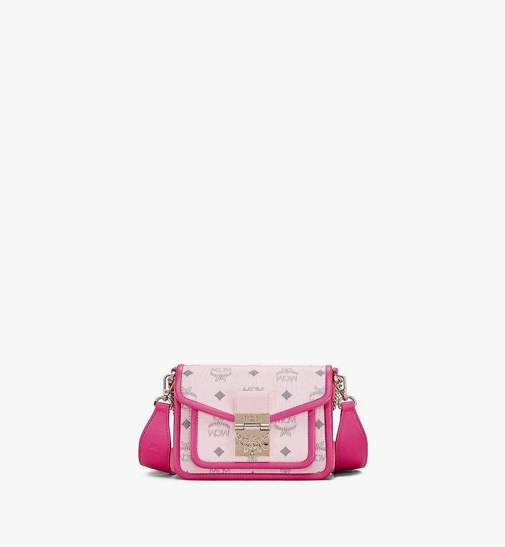 MCM Patricia Crossbody-Tasche in Visetos Leather Block Pink MWRAAPA07QH001 Noch mehr sehen 1