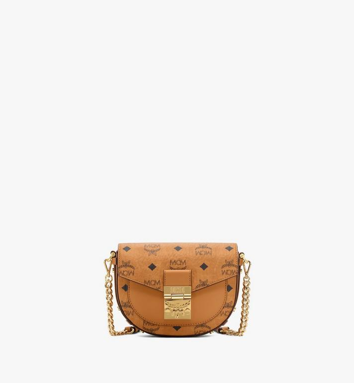 MCM Patricia Round Crossbody in Visetos Alternate View