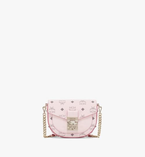 Patricia Round Crossbody in Visetos