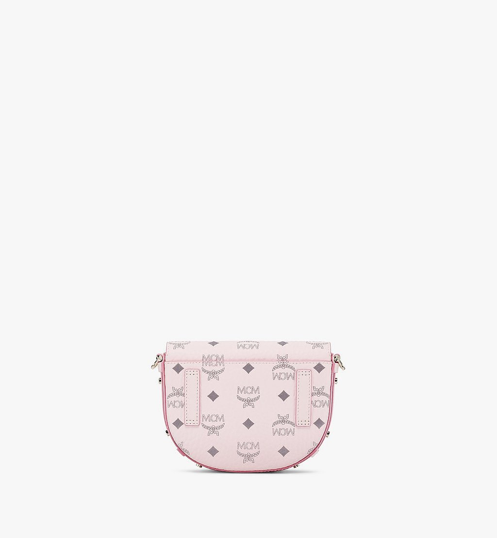MCM Patricia Crossbody in Visetos Pink MWRAAPA08QH001 Alternate View 3