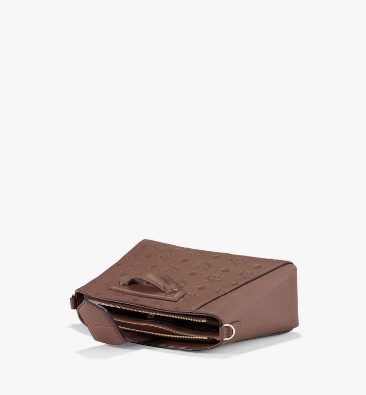 MCM Essential Crossbody-Tasche aus Leder mit Monogramm Black MWRAASE02N5001 Alternate View 3