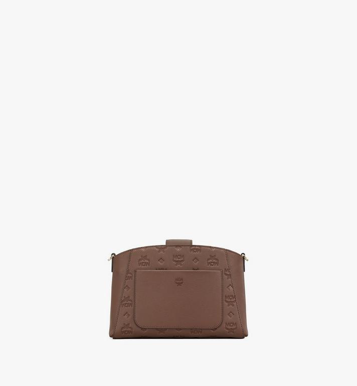 MCM Essential Crossbody-Tasche aus Leder mit Monogramm Black MWRAASE02N5001 Alternate View 4