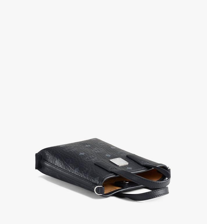 MCM Essential Crossbody Bag in Visetos Black MWRAASE03BK001 Alternate View 3