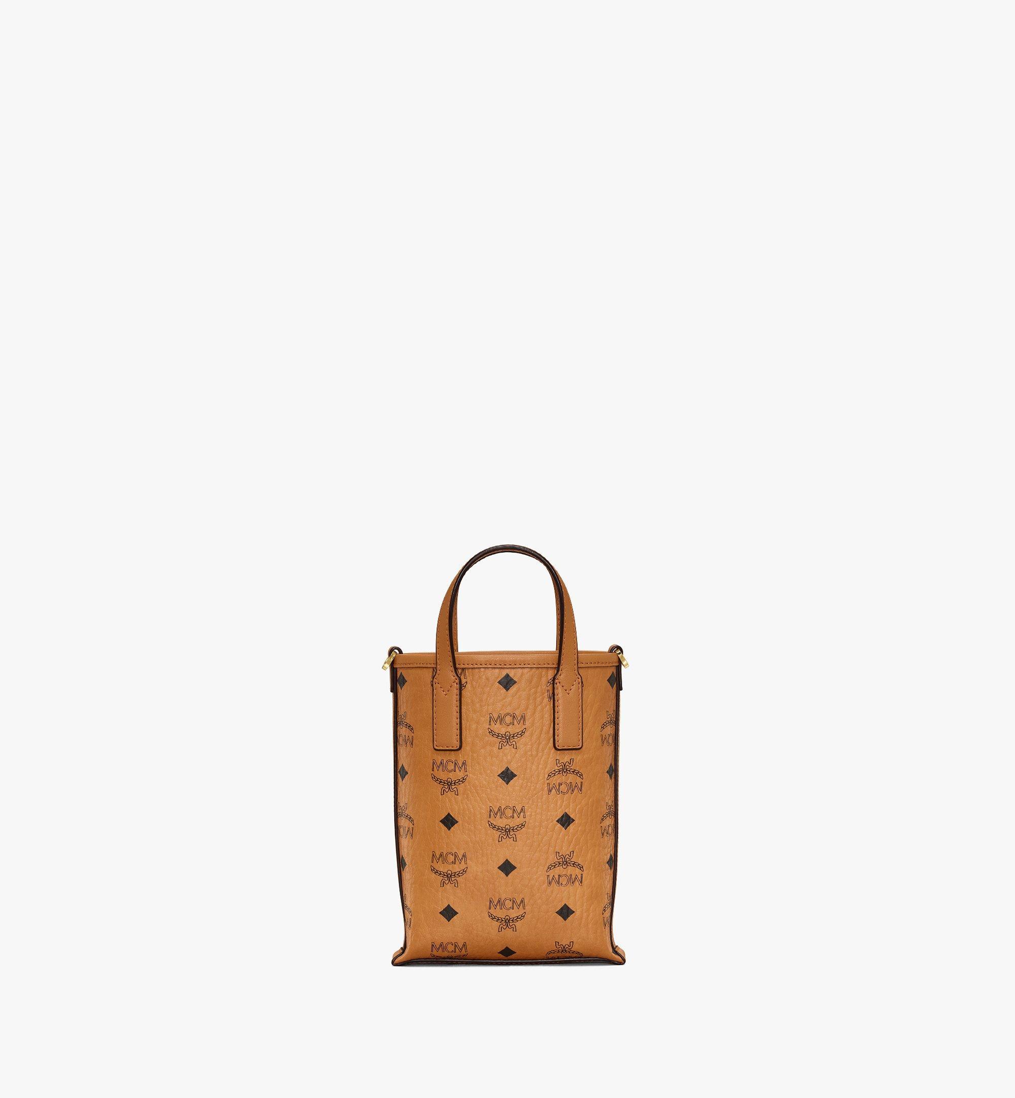 MCM Essential Crossbody Bag in Visetos Cognac MWRAASE03CO001 Alternate View 3