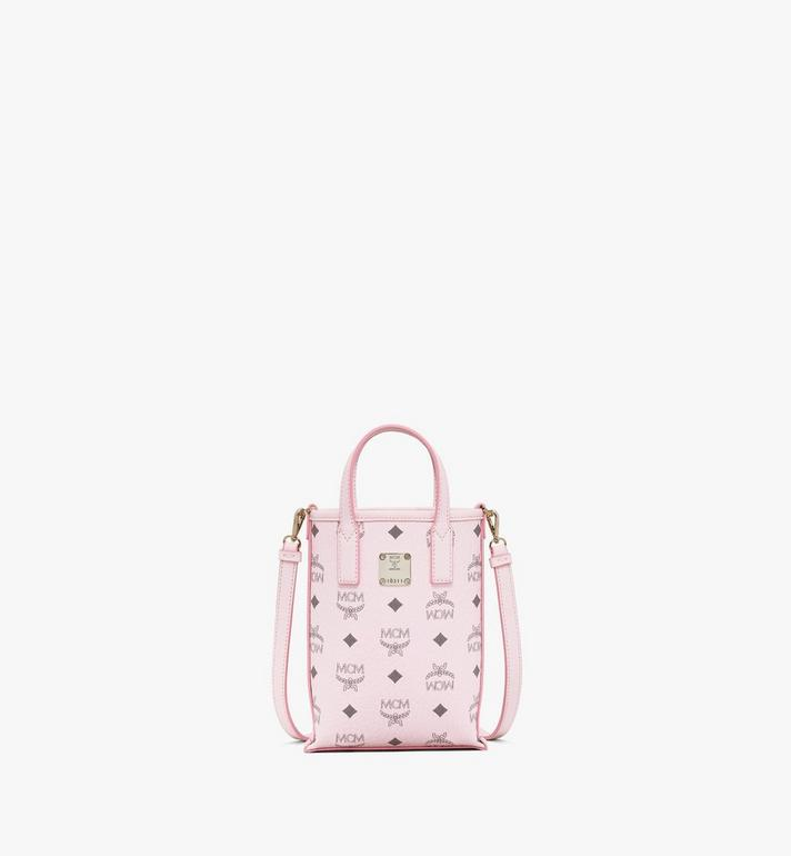 MCM Essential Crossbody Bag in Visetos Alternate View