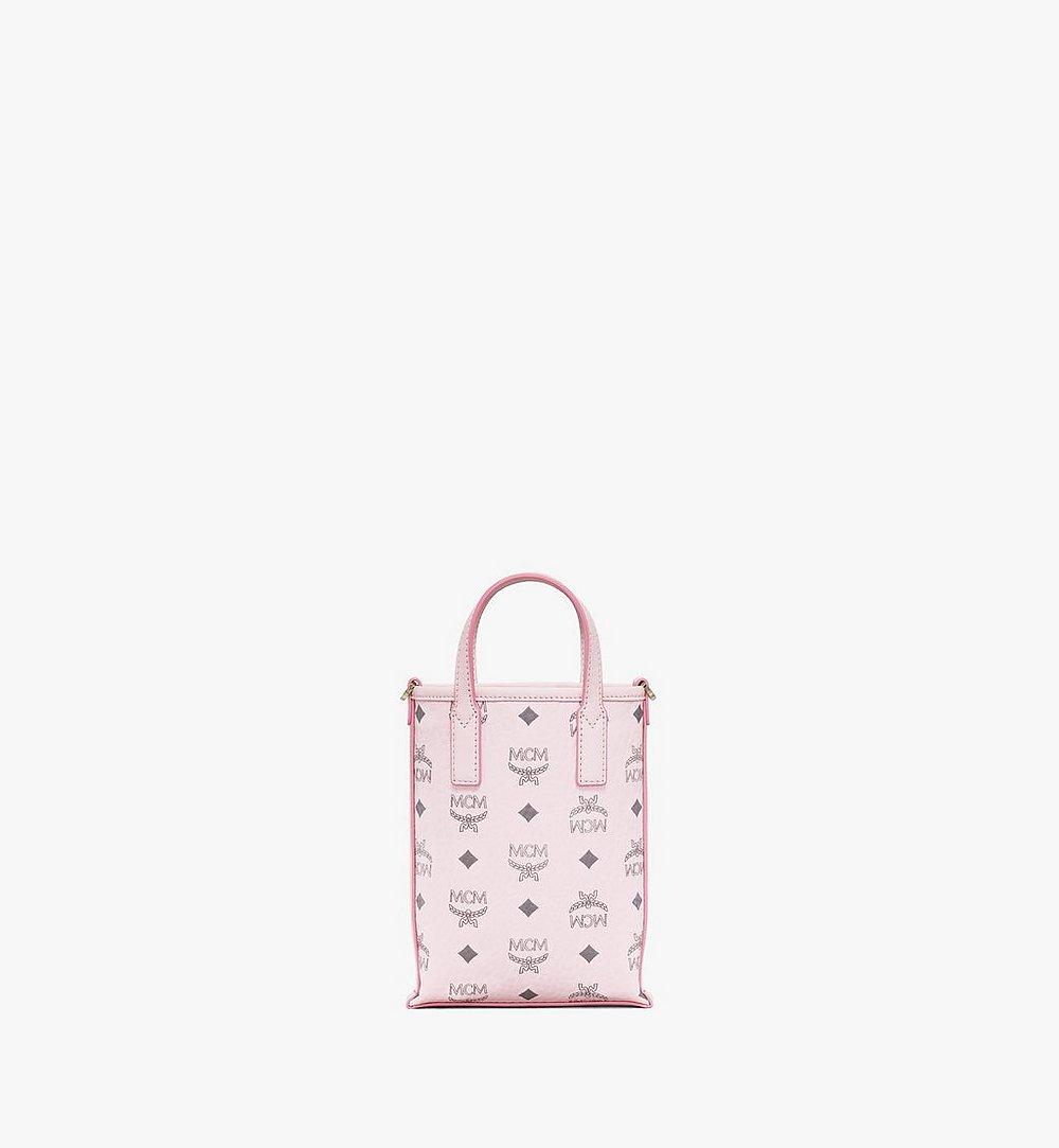 MCM Essential Crossbody Bag in Visetos Pink MWRAASE03QH001 Alternate View 3