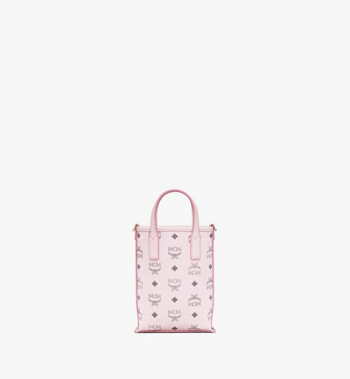 MCM Essential Crossbody Bag in Visetos Pink MWRAASE03QH001 Alternate View 4
