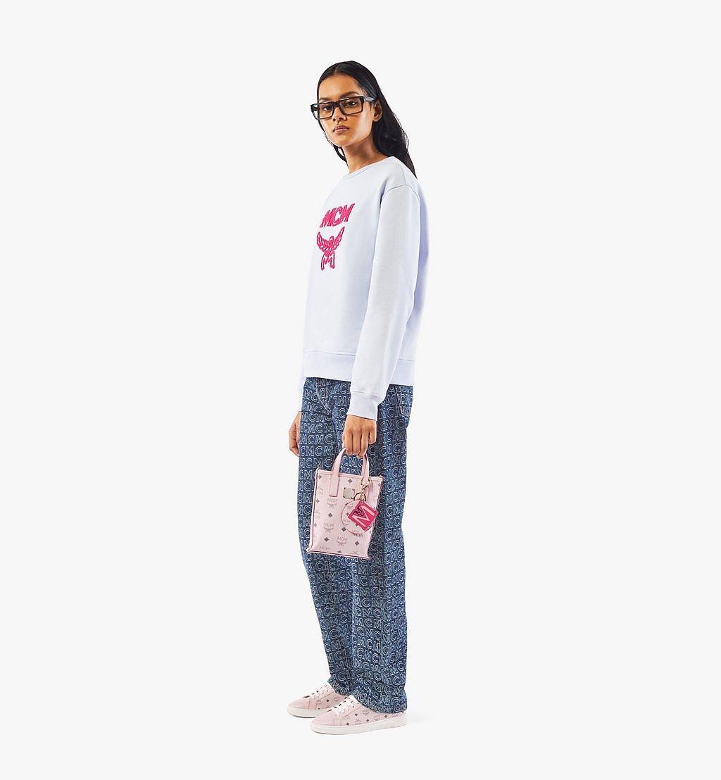 MCM Essential Crossbody Bag in Visetos Pink MWRAASE03QH001 Alternate View 2