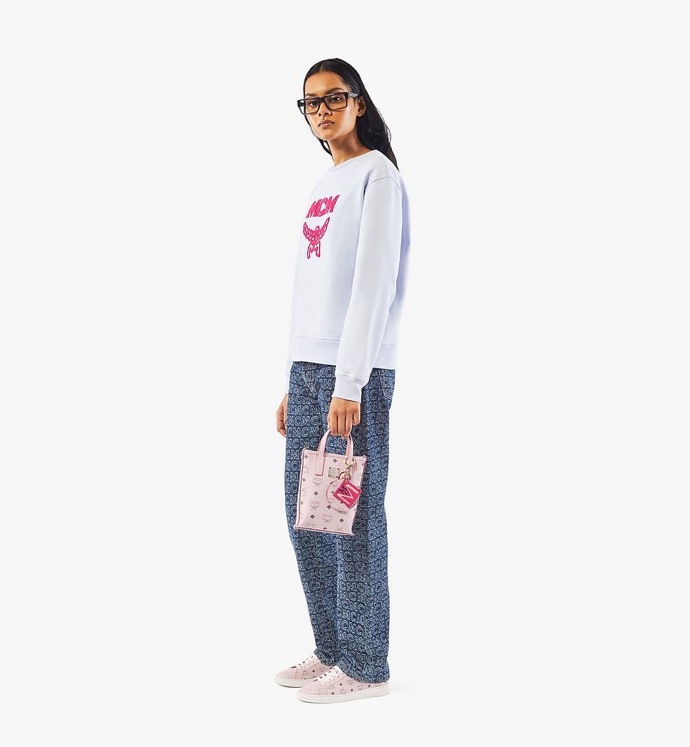 MCM Essential Crossbody-Tasche in Visetos Pink MWRAASE03QH001 Noch mehr sehen 2