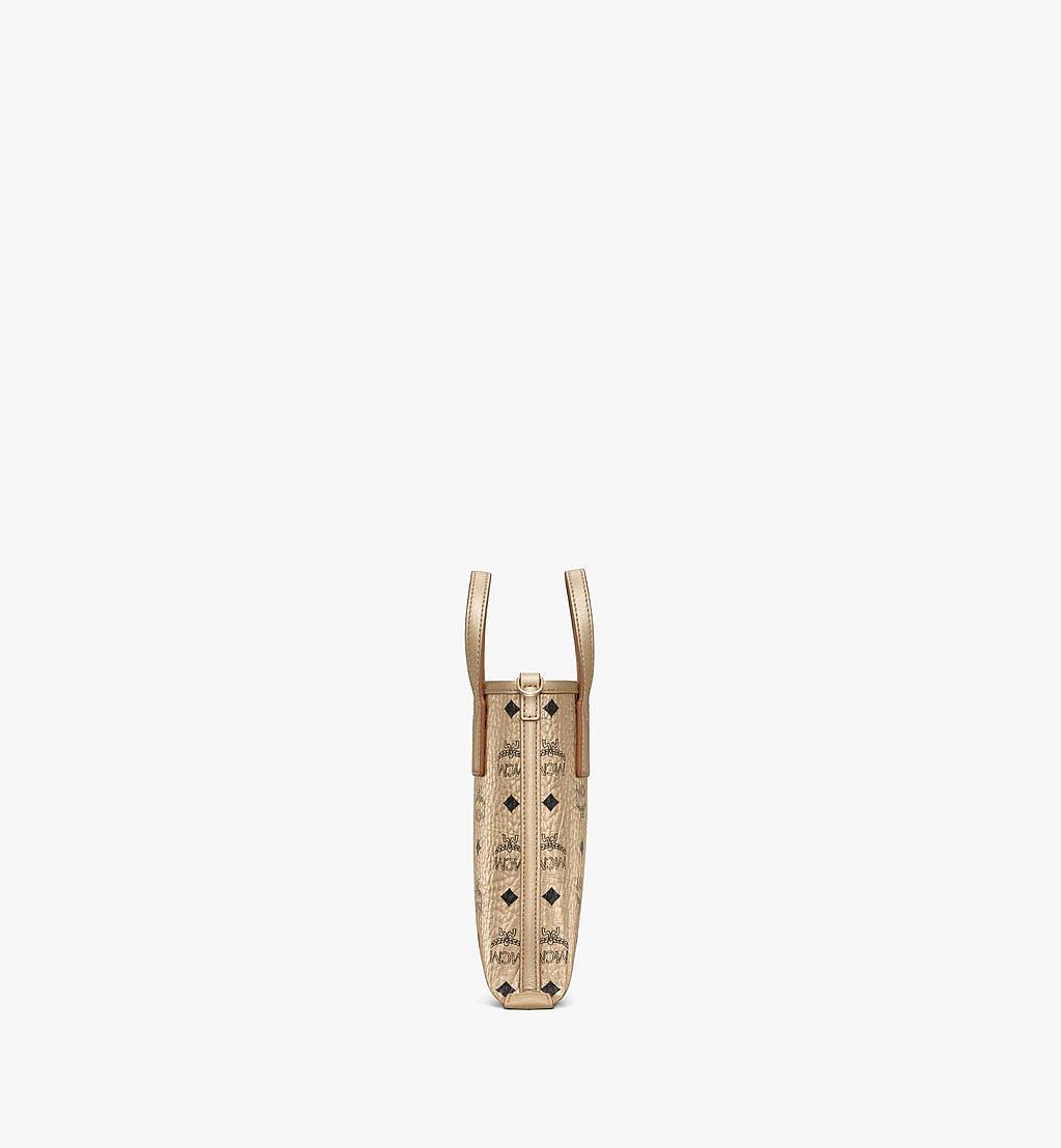 MCM Essential Crossbody-Tasche in Visetos Gold MWRAASE04T1001 Noch mehr sehen 1