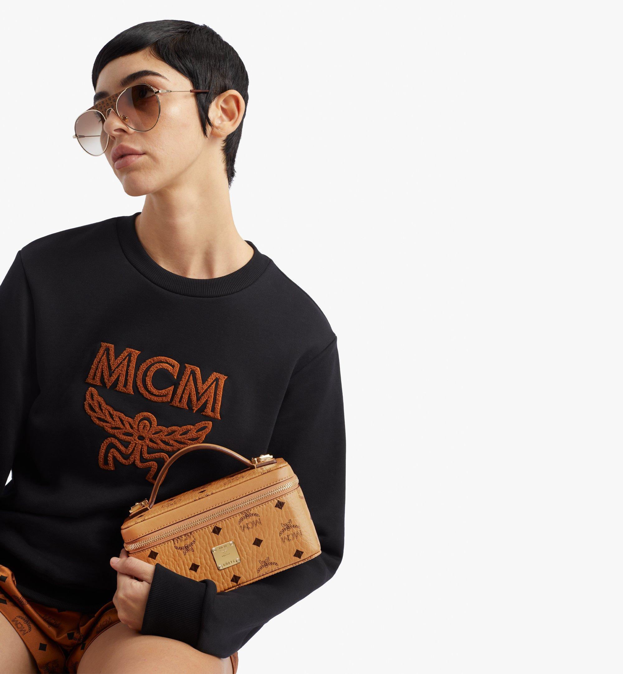 MCM Vanity-case Rockstar en Visetos Original Cognac MWRAAVI01CO001 Plus de photos 2