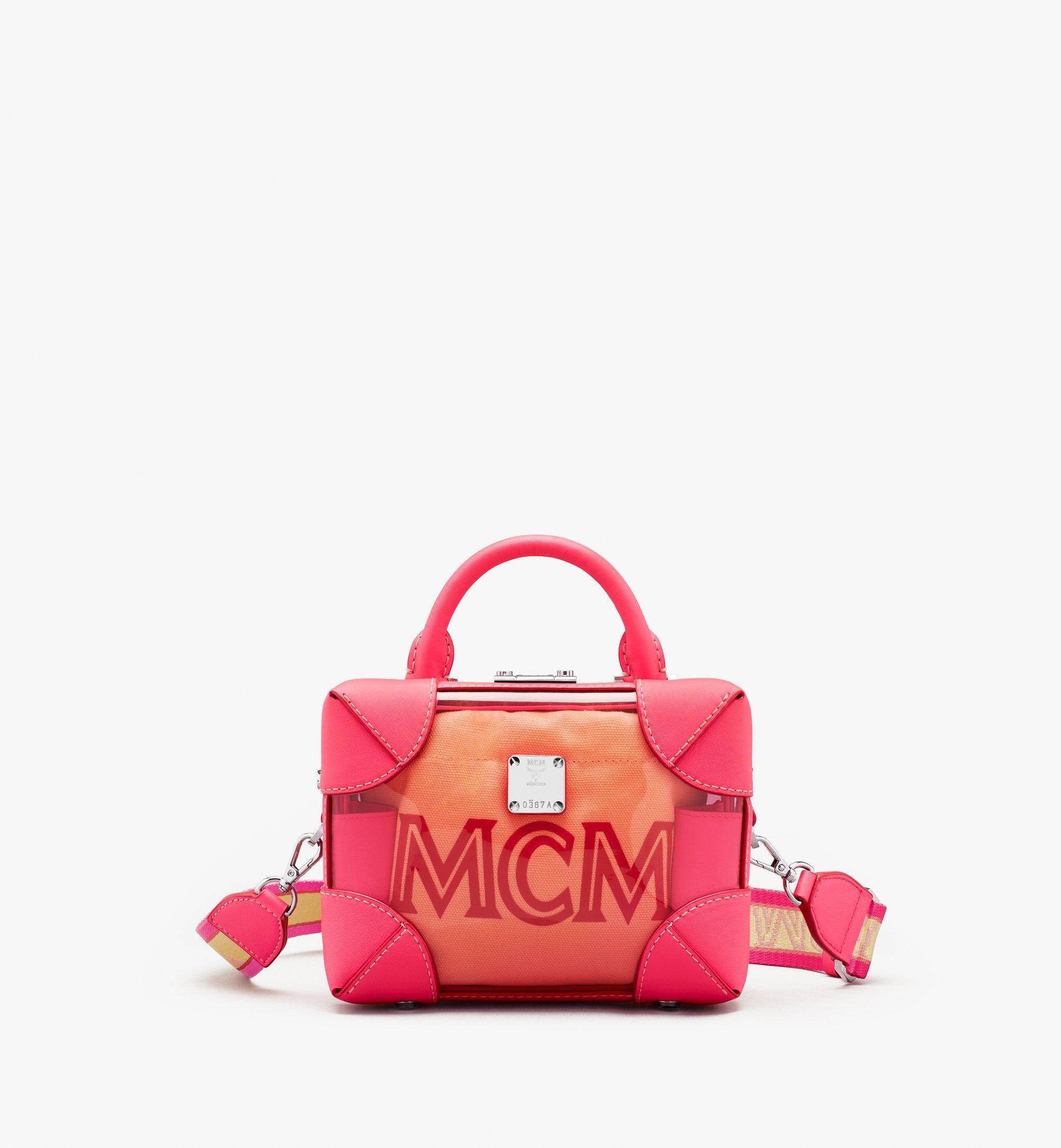 MCM E/W Soft Berlin 幻彩斜揹包 Pink MWRASBF03QE001 更多視圖 1