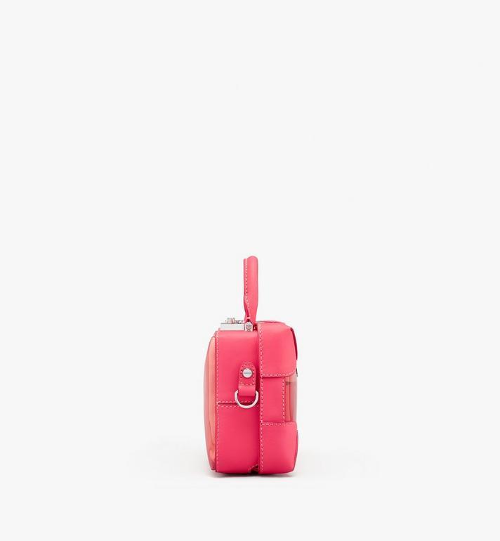 MCM Weiche E/W Berlin Crossbody-Tasche mit Hologramm Pink MWRASBF03QE001 Alternate View 2