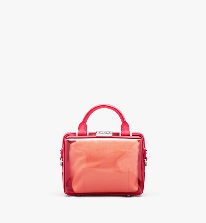 MCM Weiche E/W Berlin Crossbody-Tasche mit Hologramm Pink MWRASBF03QE001 Alternate View 4