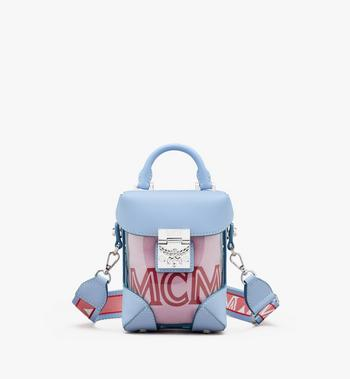 MCM N/S Soft Berlin Crossbody in Hologram Alternate View