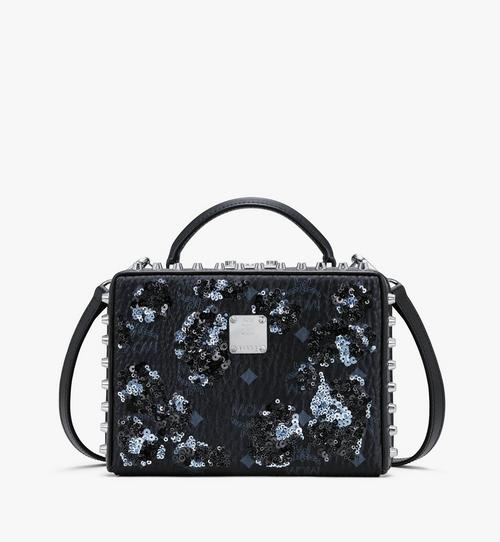Berlin Crossbody in Floral Leopard Spangle