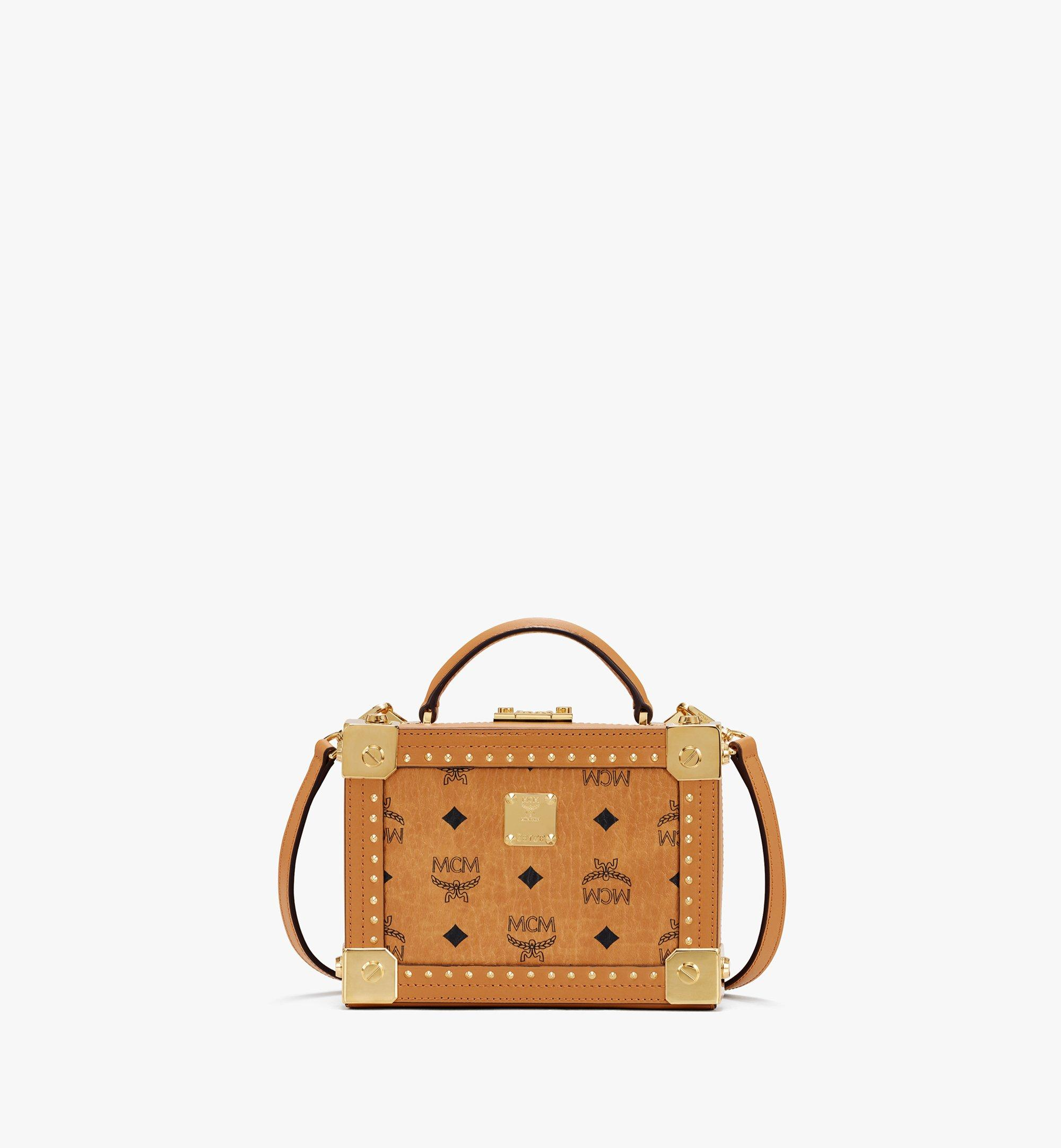 MCM Berlin Crossbody-Tasche in Visetos Cognac MWRASBN02CO001 Alternate View 1