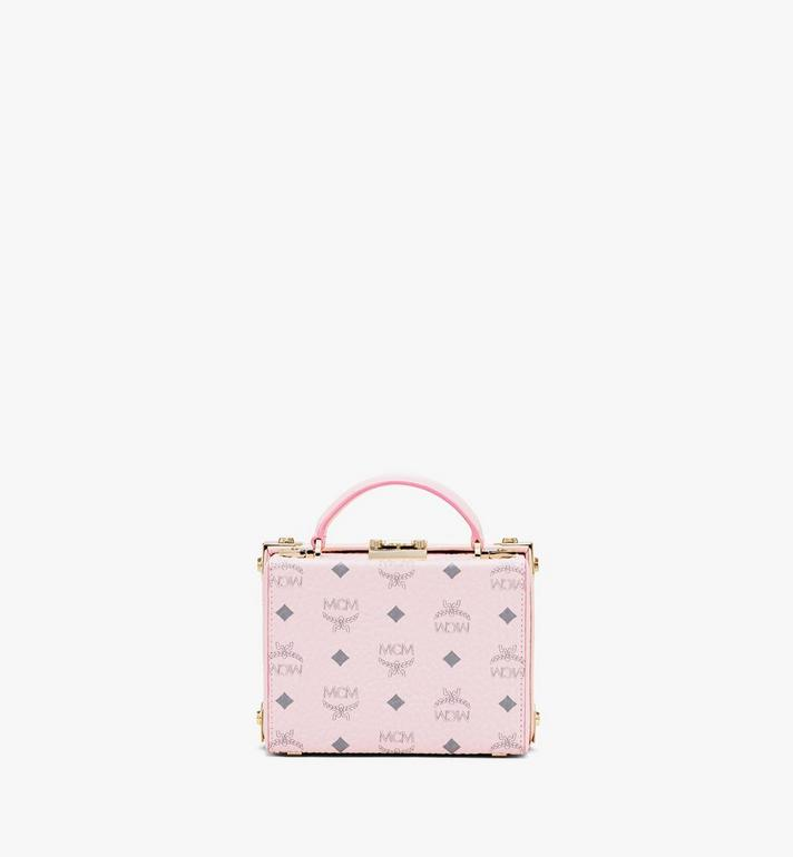 MCM Berlin Crossbody in Visetos Pink MWRASBN02QH001 Alternate View 3