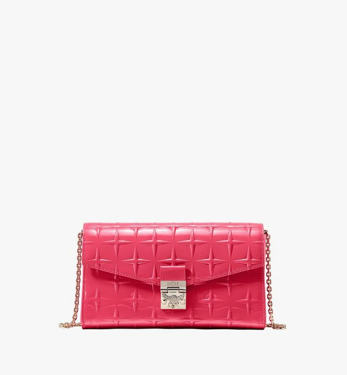 MCM Millie Crossbody in Diamond Patent Leather Alternate View