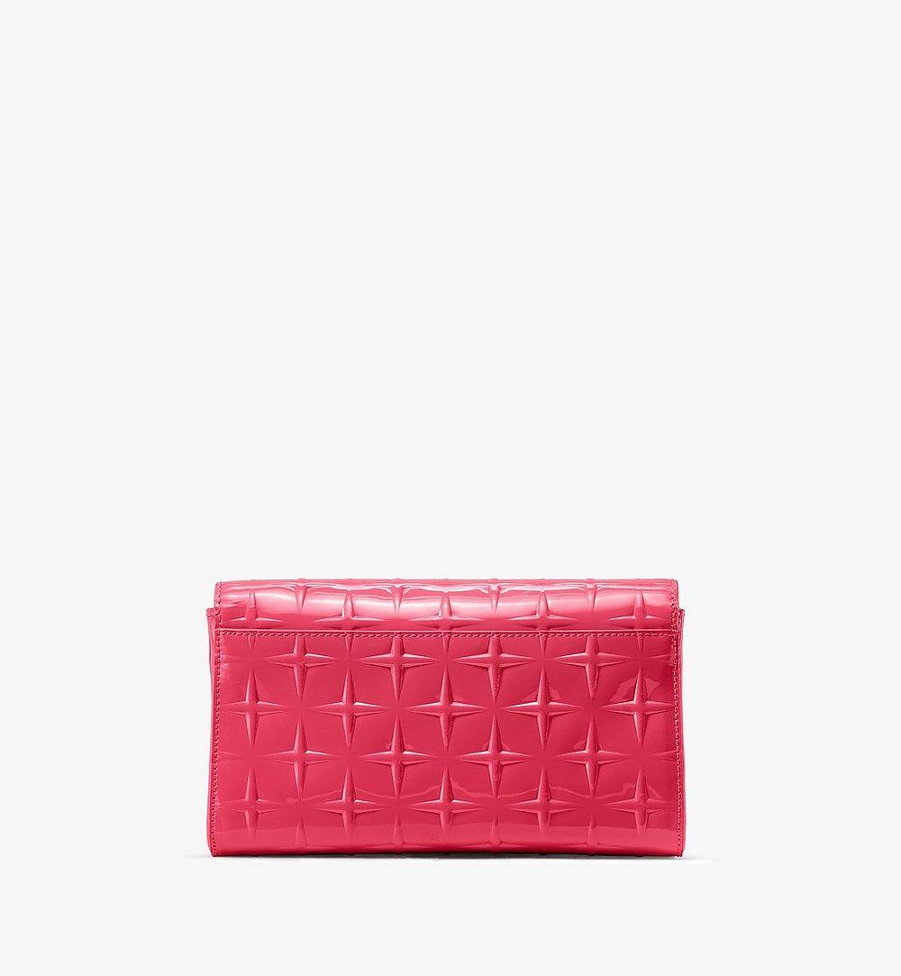 MCM Millie Crossbody in Diamond Patent Leather Pink MWRASME01QE001 Alternate View 1