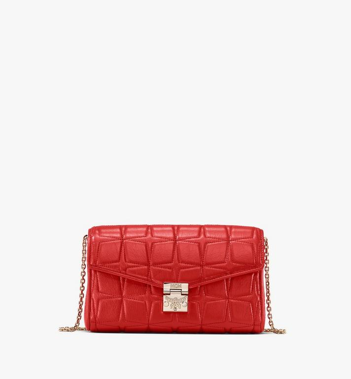 MCM Millie Crossbody in Quilted Leather Alternate View
