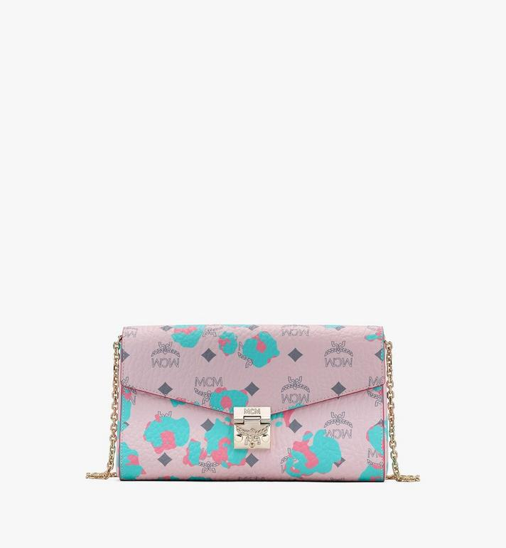 MCM Millie Crossbody Wallet in Floral Leopard Alternate View