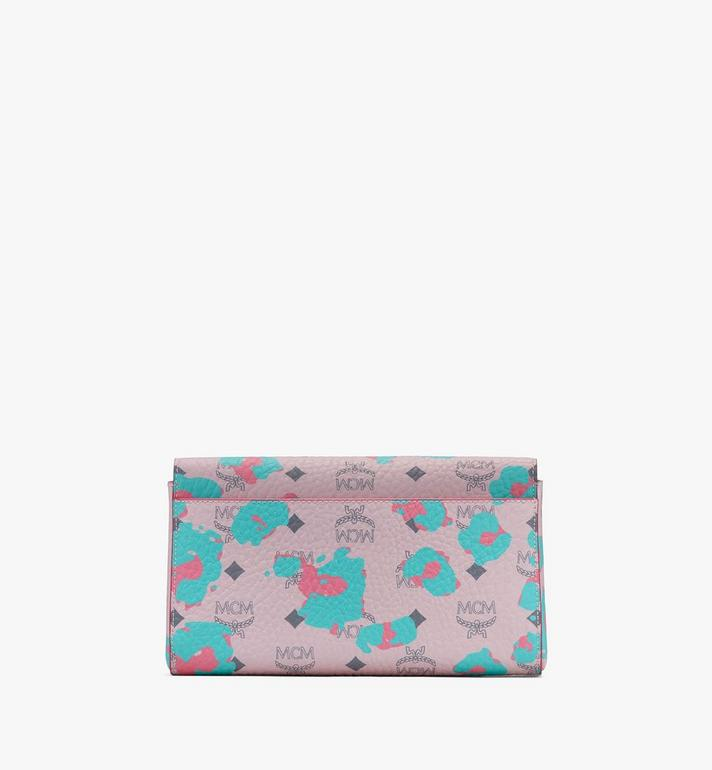 MCM Millie Crossbody Wallet in Floral Leopard Pink MWRASME04QI001 Alternate View 2