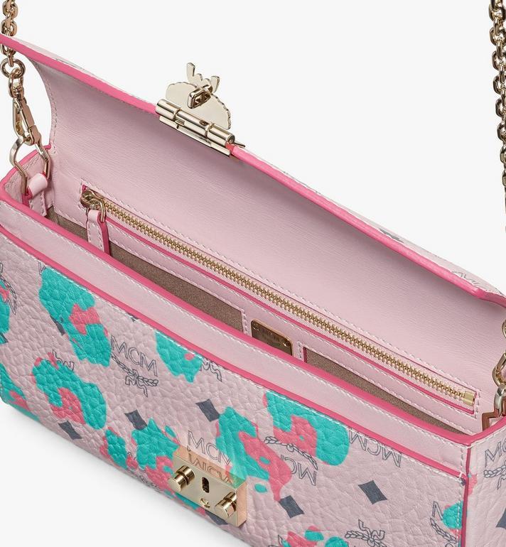 MCM Millie Crossbody Wallet in Floral Leopard Pink MWRASME04QI001 Alternate View 3