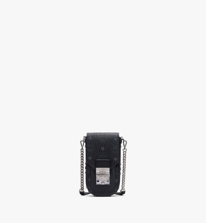 MCM Patricia Mini Crossbody in Visetos Black MWRASPA04BK001 Alternate View 1